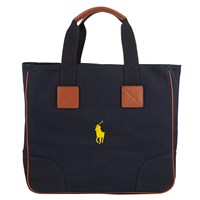 Polo Golf By Ralph Lauren Cotton Canvas Tote Bag Aviator Navy
