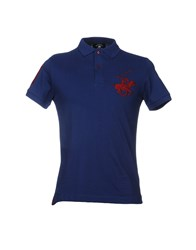 Beverly Hills Polo Club Topwear Shirts Blue