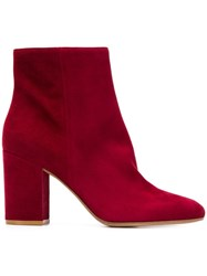 Gianvito Rossi Ankle Boots Red