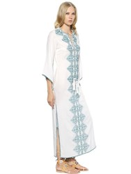 Talitha Embroidered Cotton And Viscose Dress