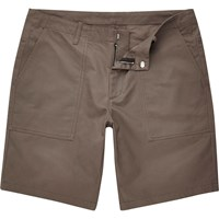 River Island Mens Grey Casual Slim Fit Bermuda Shorts