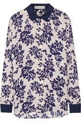 Mary Katrantzou May Printed Silk Crepe Blouse