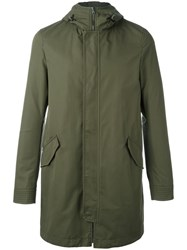 Herno Hooded Parka Green