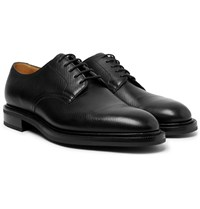 Edward Green Windermere Suede Derby Shoes Black