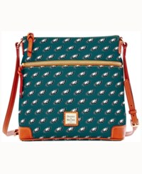Dooney And Bourke Philadelphia Eagles Crossbody Purse Green
