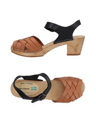 Leon And Harper Sandals Ocher