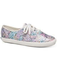 Kate Spade Keds For New York Champion Daisy Garden Sneakers Blue Multi