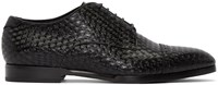 Jimmy Choo Black Diamond Penn Oxfords