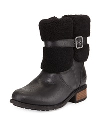 Blayre Ii Fold Over Boot Black Ugg Australia