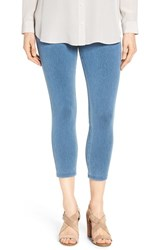 Hue Women's 'Super Smooth' Denim Capris Vintage Wash