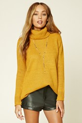 Forever 21 Ribbed Knit Turtleneck Sweater