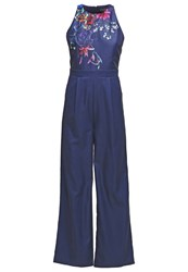 Little Mistress Jumpsuit Navy Dark Blue
