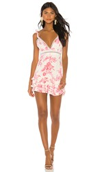 X By Nbd Dolores Mini Dress In Pink. Harvest Pink