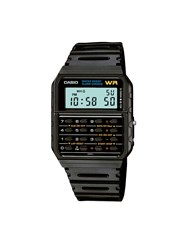 Topman Casio Core Collection Black Rubber Watch