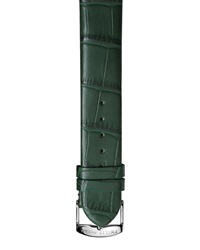Philip Stein Teslar Philip Stein Alligator Print 20Mm Watch Strap Green