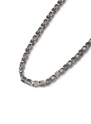 Topman Aaa Silver Look Bike Chain Necklace