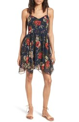 Band Of Gypsies Women's Floral Print Swing Dress