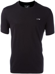 Armani Jeans 'Double Pack' T Shirts Black
