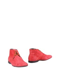 Giallocra High Top Dress Shoes Coral