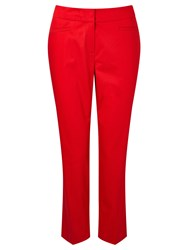 Gardeur Dyan Cropped Slim Trousers Red