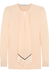 Givenchy Blouse In Pastel Pink Silk Crepe De Chine