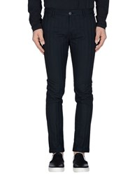 Pence Trousers Casual Trousers Men Dark Blue