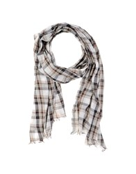 Closed Accessories Oblong Scarves Women White
