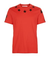 Givenchy Cuban Star T Shirt Male Red