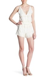 Gypsy 05 Embroidered Romper White