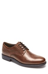 Rockport 'S Total Motion Classic Plain Toe Derby New Brown Leather