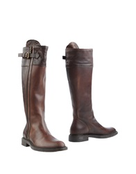 Maria Cristina Boots Dark Brown
