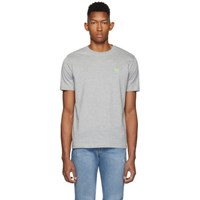 Paul Smith Ps By Grey Zebra Scribble T Shirt