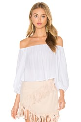 Sam And Lavi Elizabeth Top White