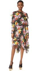 Preen Cassidy Dress Tin Flower