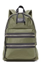 Marc Jacobs Utility Nylon Backpack Military