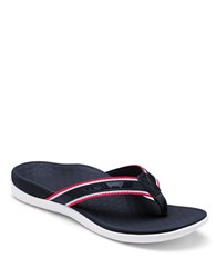 Vionic Tide Sport Leather Blend Sandals Navy Blue