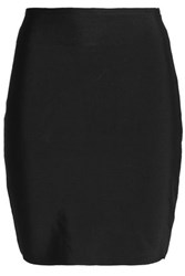 Oak Ponte Mini Skirt Black