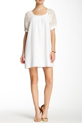 Voom By Joy Han Sylvie Bow Detail Dress White