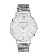 Reiss Larsson And Jennings Watch Lugano Jura 38Mm Watch In Silver