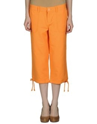 Lee 3 4 Length Shorts Orange