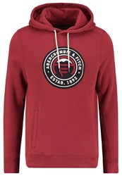 Abercrombie And Fitch Hoodie Red