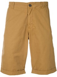Woolrich Chinos Shorts Brown