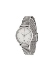 Larsson And Jennings Aurora Silver Milanese 26Mm Watch