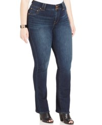 Lucky Brand Plus Size Grissom Wash Slim Bootcut Jeans