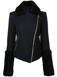 Gareth Pugh 'Flight' Biker Jacket Black