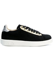 Diadora Game Sneakers Leather Suede Rubber 3.5 Black