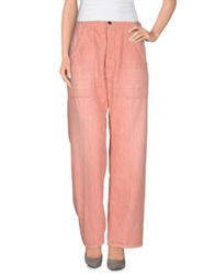 People Denim Pants Pastel Pink
