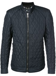 Belstaff Quilted Jacket Cotton Polyester Blue