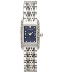 Charter Club Women's Stainless Steel Bracelet Watch 19 X 13Mm Only At Macy's Silver