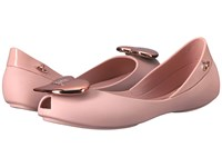 Vivienne Westwood Anglomania Melissa Queen Little Kid Big Kid Pale Pink Women's Flat Shoes